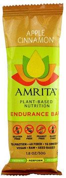 Amrita Health Foods Endurance Bar Apple Cinnamon 1.8 oz - Vegan