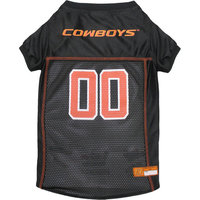 Pets First College Oklahoma State Cowboys Collegiate Dog Jersey, Available in Various Sizes