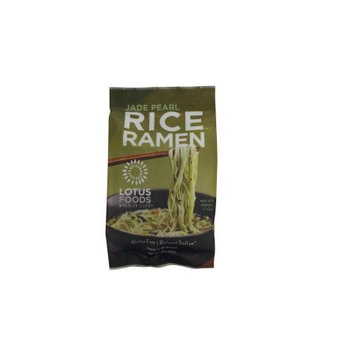 Lotus Foods Rice Ramen Noodles Jade Pearl Rice With Miso Soup, 2.8 Ounce Packet