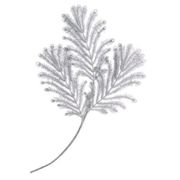 Silver Leaves Pick Ornament, Created for Macy's