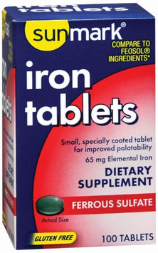 Sunmark Iron Supplement