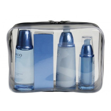 WODISON Crystal Clear Cosmetic Sundry Bag Waterproof Travel Makeup Toiletry Case Large