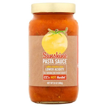 The Sunshine Tomato Company Sunshine Pasta Suace, Sauce Pasta Hot Harlot, 24 Oz (Pack Of 6)