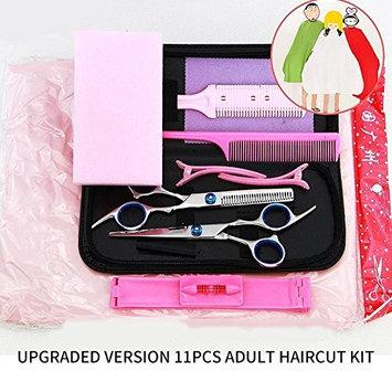 Professional Barber Salon Hair Cutting Thinning Scissors Shears Hairdressing 6'' Children's/Adult's Haircut Kit