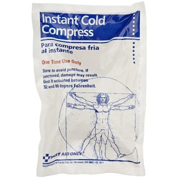First Aid Only Instant Cold Compress - 6