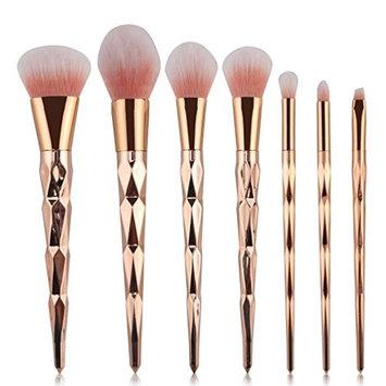 AutumnFall 7PCS Make Up Foundation Eyebrow Eyeliner Blush Cosmetic Concealer Brushes