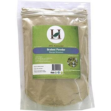 H&C 100% Natural Brahmi Powder / Bacopa Monnieri, 227 G (1/2 LB)