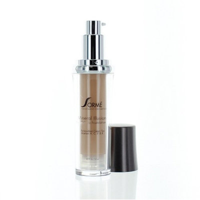 Sorme Cosmetics Sorme Mineral Illusion Oil Free Luminous Foundation Collection-Golden Light