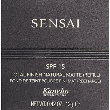 Sensai Total Finish Natural Matte Foundation Refill, TM02 Natural Beige 12 g by Sensai
