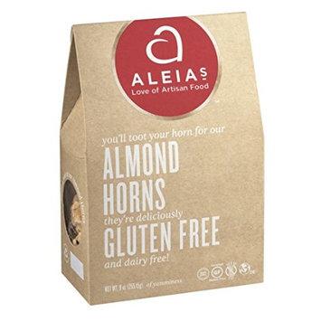 Aleia's Gluten Free Almond Horn Cookies, 9 oz Family Size Box