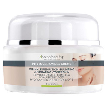 #1 Rated Phytoceramides Crème | Anti-Aging Skin Rejuvenation | Ceramide Complex | Hyaluronic Acid | Protein & Essential Oils & Extracts | Plumps, Firms, Moisturizes & Reduces Wrinkles |Ships Free [1]