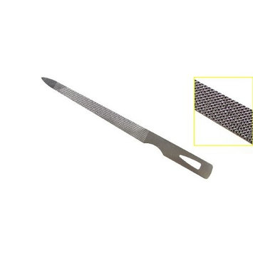 Triple Cut Stainless Steel Nail File (2 Pack)