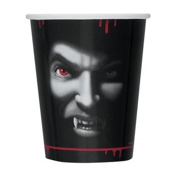 9oz Vampire Halloween Party Cups, 8ct