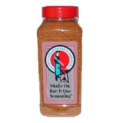 Strawberry's Bar B Que Sauce Strawberry's Grand Champion Shake-On Bar-B-Que Seasoning (24 oz.)