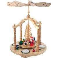 Alexander Taron Importer Alexander Taron 15853 Tea Candle Eve Pyramid Christmas Ornament
