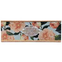 Saponificio Verasino Imported Italian Bath Soaps Pink Camelia 3 x 3.5 oz Set