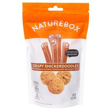 Naturebox Mini Cinnamon Crispy Snickerdoodles - 5oz