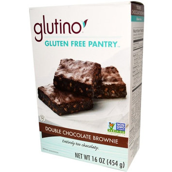 Gluten-Free Pantry, Double Chocolate Brownie, 16 oz (pack of 12)