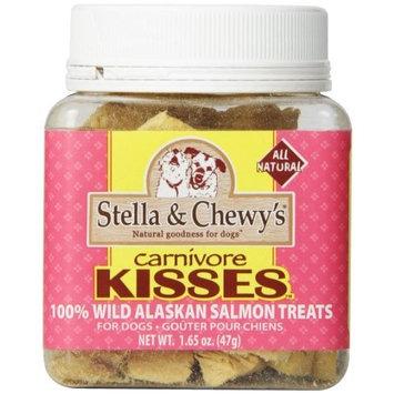STELLA & CHEWY'S 860097 Carnivore Kisses Salmon Dog & Cat Treats, [1Jar]