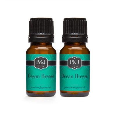 Ocean Breeze Fragrance Oil - Premium Grade Scented Oil - 10ml - 2-Pack [2]