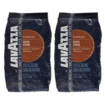 Lavazza 4202A 2.2 Pound Super Crema Espresso Whole Bean (Pack of 2)