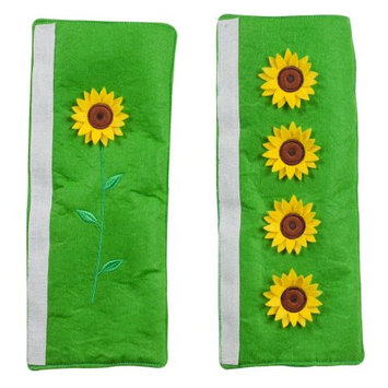 Miles Kimball Sunflower Appliance Handle Covers Set of 3