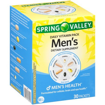 Spring Valley Men's Daily Vitamin Pack Dietary Supplement