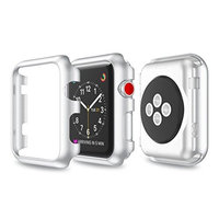 Creazy Ultra-Slim Transparent PC Hard Case Cover For Apple Watch Series 3 38MM