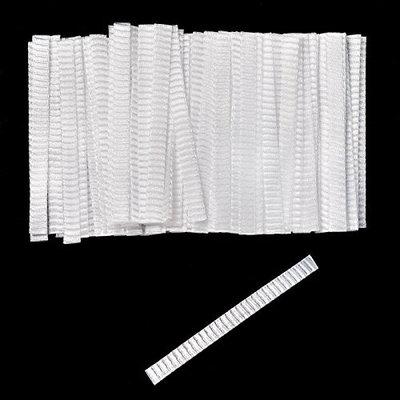 100 PCS Makeup Brushes Protector Pen Guard Expandable Mesh Cover