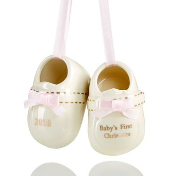 2018 Pink Baby Shoes Ornament, Created for Macy's