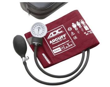 ADC PROSPHYG 760 Blood Pressure Cuff, Adult, Burgundy