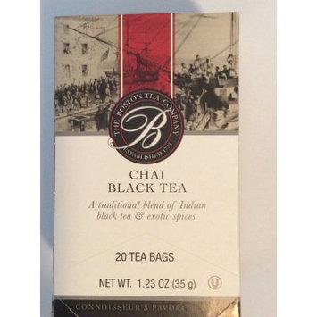 The Boston tea company chai black tea 20 tea bags