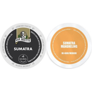 Faro Roasting Houses Sumatra K-Cup Variety Pack-Van Houtte Sumatra Fair Trade Dark Roast & Faro Organic Sumatra Medium Roast, 48 Count Coffee Bundle
