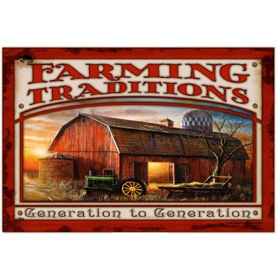 The Cranford Group Colorful Garden Farming Traditions Mat