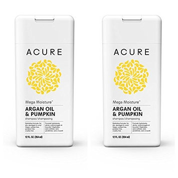 Acure Mega Moisture - Argan Oil & Pumpkin, 12 Fluid Ounces (Variety Pack)