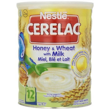 Nestle Cerelac, Honey and Wheat with Milk, 2.2-Pound [Honey and Wheat with Milk]