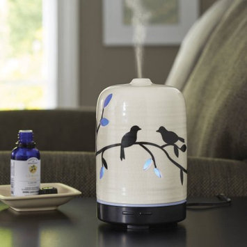Rimports Usa Llc Better Homes and Gardens Essential Oil Diffuser, Birds and Branches