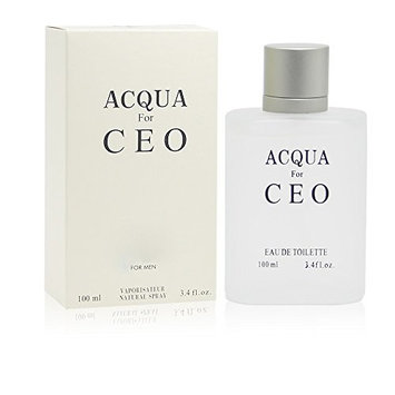 ACQUA H2O,3.4 Fluid Ounce Eau De Toilette Spray for Men, Perfect Gift