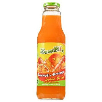 Solecito Foods Llc ZanaMia Carrot & Orange Juice Drink, 25.4 fl oz