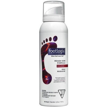 Footlogix Rough Skin Formula 7+ Mousse (4.23 oz)