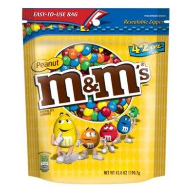 Advantus M&m Peanut Candy - Resealable Zipper - 2.62 Lb - 1 Pack (SN32437)