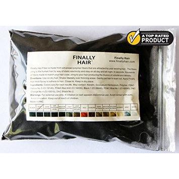 Hair Building Fibers - Dark Blonde 50 Gram Refill - Refill Your existing fibers bottle. Hair Filler Fibers. Cover Grey Roots Concealer by Finally Hair (50g 50gr 50gram 50 G Gr Dark Blond)