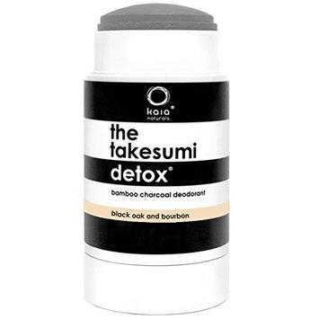 Kaia Naturals Takesumi Detox Deodorant in Black Oak and Bourbon, 65 g