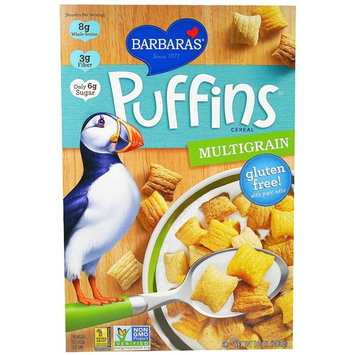 Barbara's Bakery, Puffins Cereal, Multigrain, 10 oz (pack of 6)