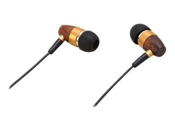 Rosewill High-Fidelity Passive Noise-Isolating Rosewood Earbuds