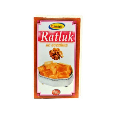 Ratluk Turkish Delight Walnut (Omega) 500g