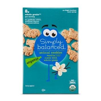 Vanilla Animal Cookies - 7oz - Simply Balanced™