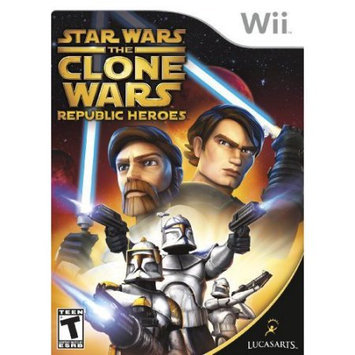 Lucasarts Entertainment Company Star Wars: Clone Wars Republic Heroes Wii Game LUCASARTS