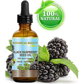 BLACK RASPBERRY SEED OIL 100% Pure / Natural / Virgin. Cold Pressed / Undiluted. For Face, Hair and Body. 2 Fl.oz.- 60 ml