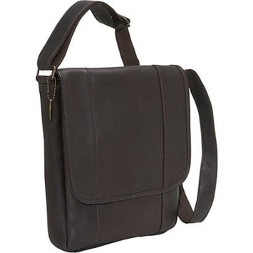David King Vertical Messenger Bag 1/2 Flap Over